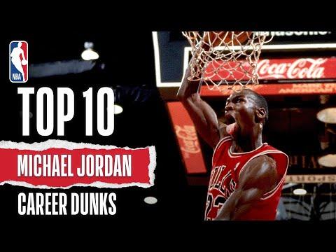 Top 10 Michael Jordan Career Dunks   The Jordan Vault