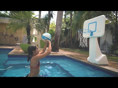 PoolSport Stainless Basketball Hoop - Dunn-Rite Products