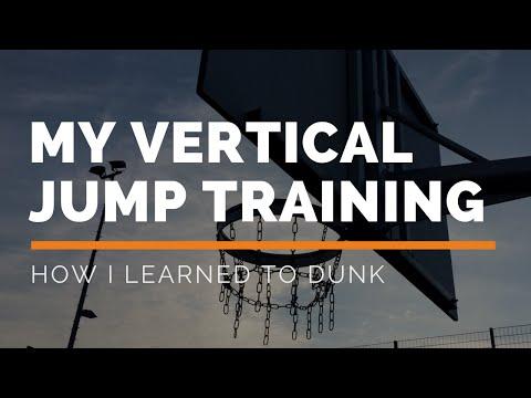 VERT SHOCK Vertical Jump Training - My 8 Weeks in 1 Minute