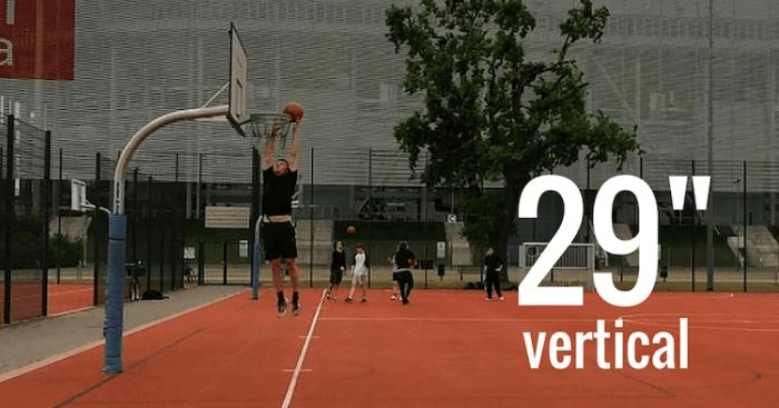 Vertical Jump before Vert Shock