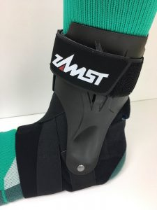 Zamst A2Dx in socks