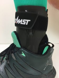 Zamst A2DX in shoes
