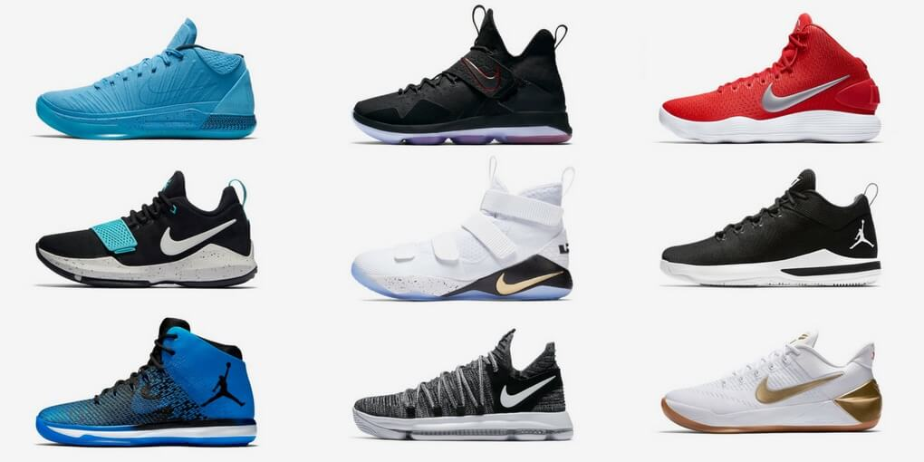 The 10 Best Basketball Shoes In November 2018